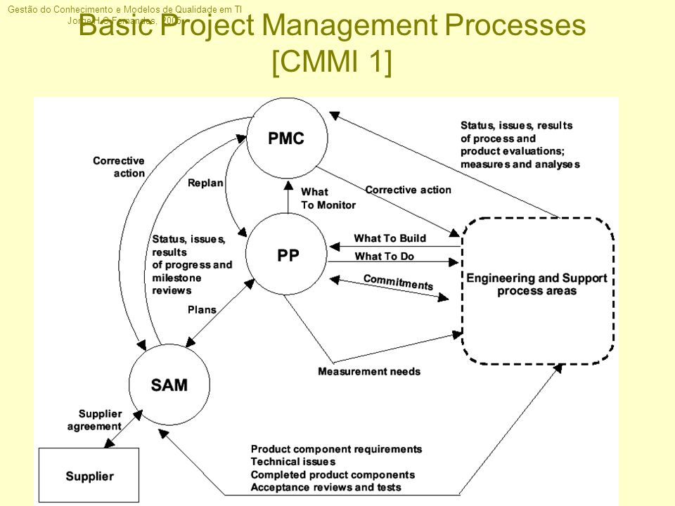 Basic Project Management Processes [CMMI 1]